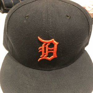 New Era Detroit Tigers Fitted Hat 7 1/2